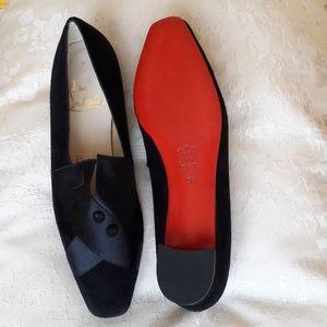 Black Formal Flats